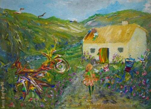 Cottage in the west Lucia Errity Art