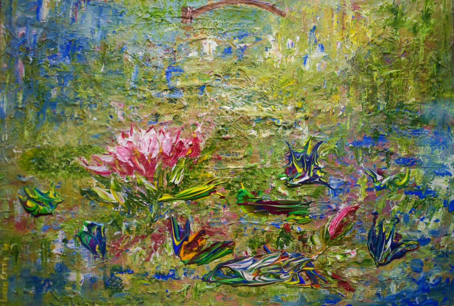 Lily pond Lucia Errity Art