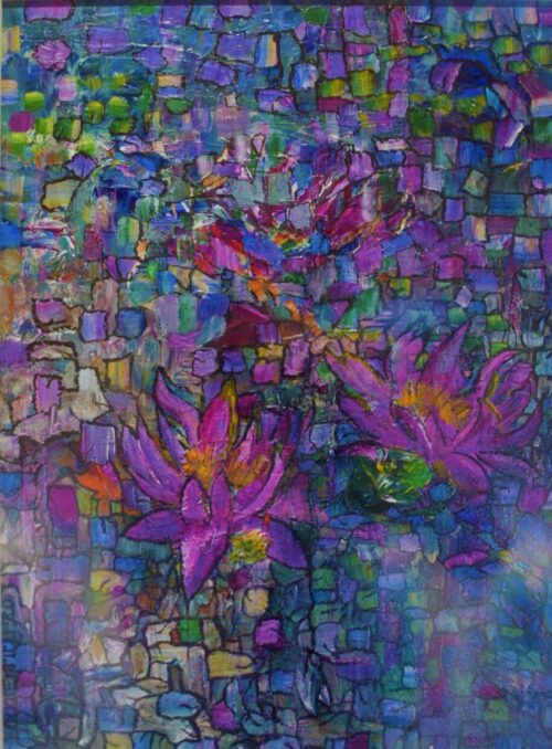 Stained Lilies Lucia Errity Art