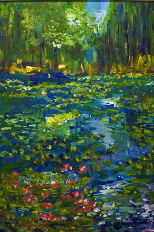 Woodland and Water Lucia Errity Art